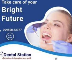 Dental Station is the Best Dental Clinic for Dental Implant and Cosmetic Dentistry in Hanuman Nagar