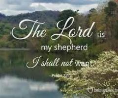 Pray:  The Lord Is Our Shepherd!