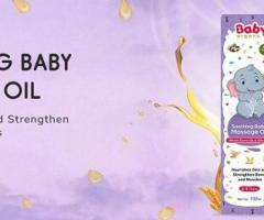 Buy Soothing Baby Massage Oil Online