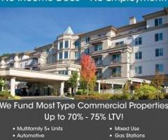 COMMERCIAL PROPERTY FINANCING Up to $20,000,000.00 – Most Type Properties Qualify