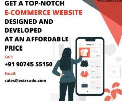 E-Commerce Solution at Affordable Price - Start Selling Today