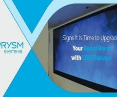 It Is Time to Upgrade Your Boardroom Solutions with LPD Display